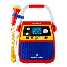Rádio Portátil Meu Primeiro Gradiente Gmp 104 Tela LCD 1,2RMS Lenoxx