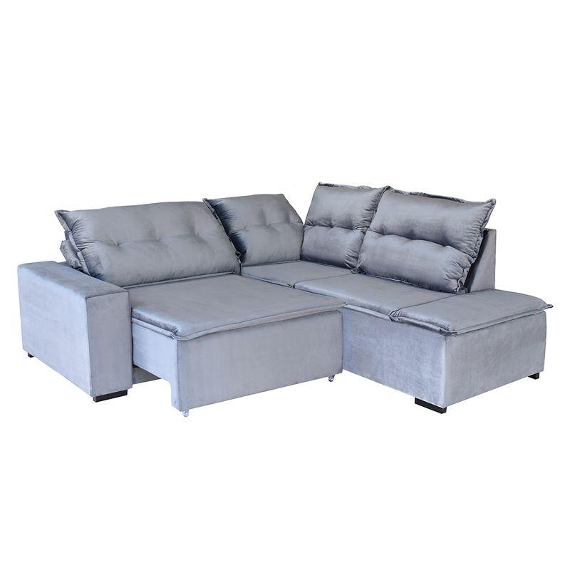 Sofa-de-Canto-Invictus-3-Lugares-Retratil-Reclinavel-Amazom-Estofado