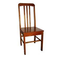 Cadeira Requinte em Madeira Maciça e Pintura PU Matté