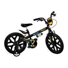 Bicicleta Batman com Garrafinha Aro 16 V-Brake Bandeirante