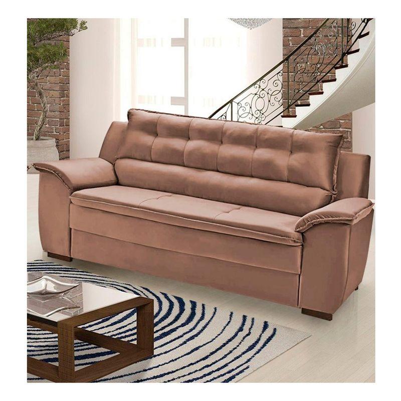 Sofa-Dommus-3-Lugares-D28-Suede-Umaflex