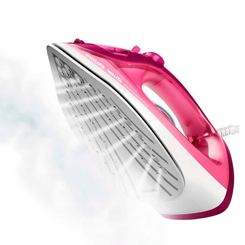 Ferro-de-Passar-a-Vapor-e-a-Seco-Easy-Speed-Plus-RI2146-Rosa-Philips-Walita