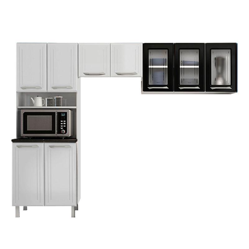 Cozinha-Modulada-Topazio-9-Portas-3-Prateleiras-Telasul