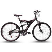 Bicicleta Tb200 Aro 26 18 Marchas Full Suspension Track Bikes