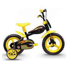 Bicicleta Aro 12 Tracktor com Para-lama e Rodinhas Track Bikes