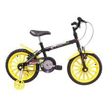 Bicicleta Aro 16 Dino com Para-lama e Rodinhas Track Bikes