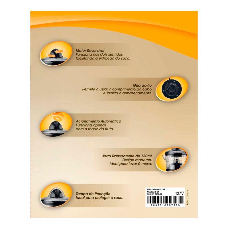 Espremedor-de-Frutas-Ultra-Black-E-04-Dupla-Rotacao-750ml-Mondial
