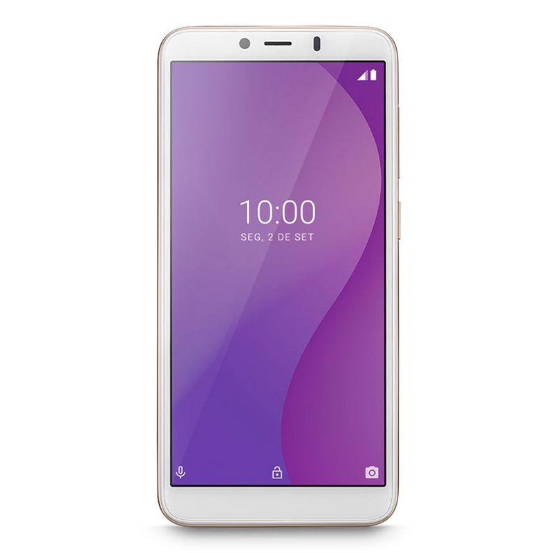 Celular Smartphone Multilaser G P9096 16gb Dourado - Dual Chip