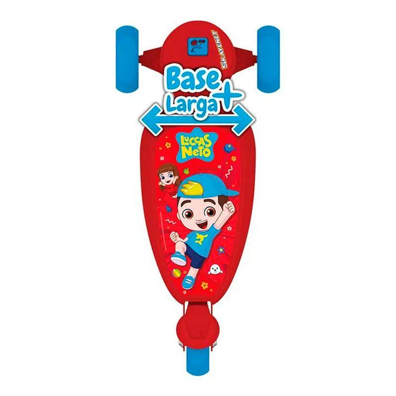 patinete-infantil-skatenet-luccas-neto-bandeirante
