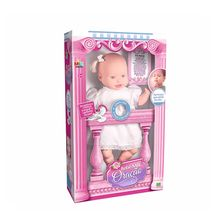 Boneca Oracao Pai Nosso Bebê Milk Brinq