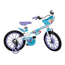 Bicicleta Infantil Disney Frozen Aro 16 Bandeirante