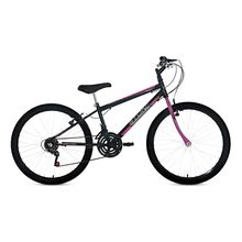 Bicicleta Aro 24 Teen Girl com Grip Shift e Freio V-Brake 18M Stone Bike