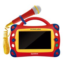 Tablet Infantil Gtb106 com Karaoke e Microfone Gradiente