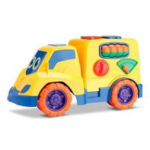Carrinho de Brinquedo Encaixes Bau Samba Toys