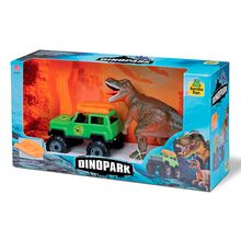 Carrinho de Brinquedo Dino Park Samba Toys