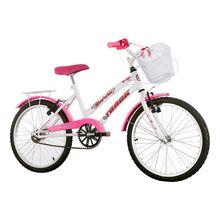 Bicicleta Aro 20 Marbela com Cestinha e Garupa Track Bikes