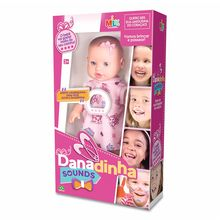 Boneca Danadinha Sounds 4 Sons Milk Brinq