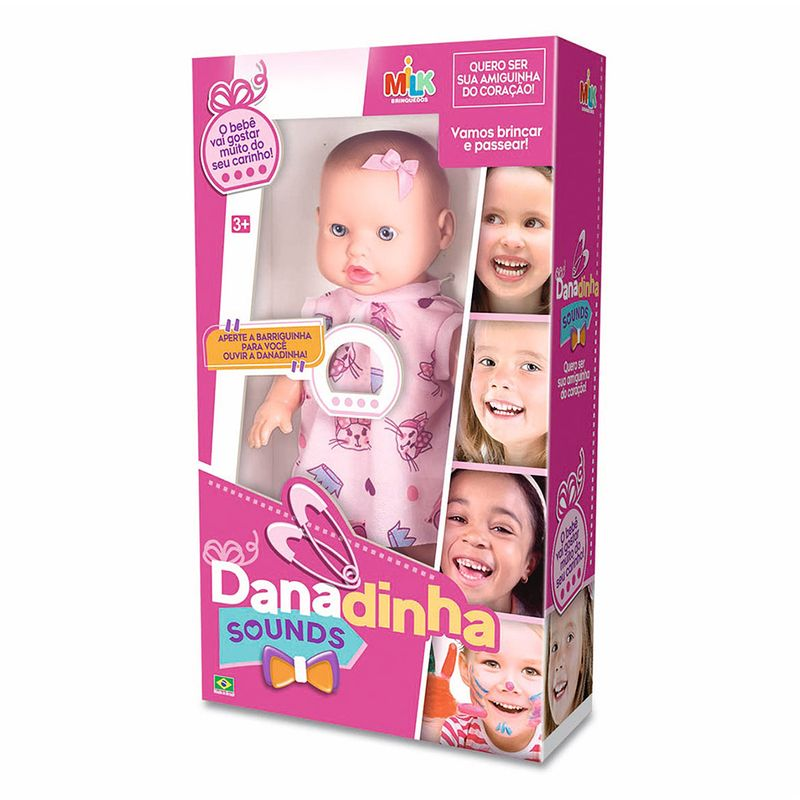 Boneca-Danadinha-Milk-Brinquedos