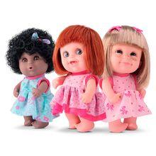 Boneca Babies Trigemeas Expressões Bee Toys Rotobrinq