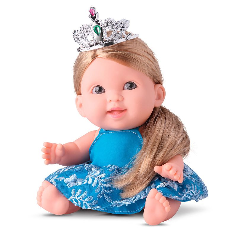 Boneca-Bee-Baby-Princess-com-coroa-e-varinha-Rotobrinq