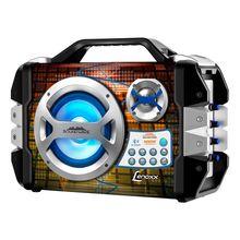 Caixa de Som Ca325 100W Bluetooth Usb Lenoxx
