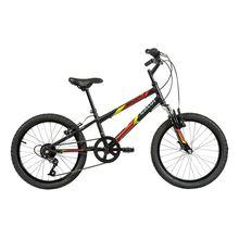 Bicicleta Aro 20 Snap com Suspensão e Freio V-Brake 7M Caloi