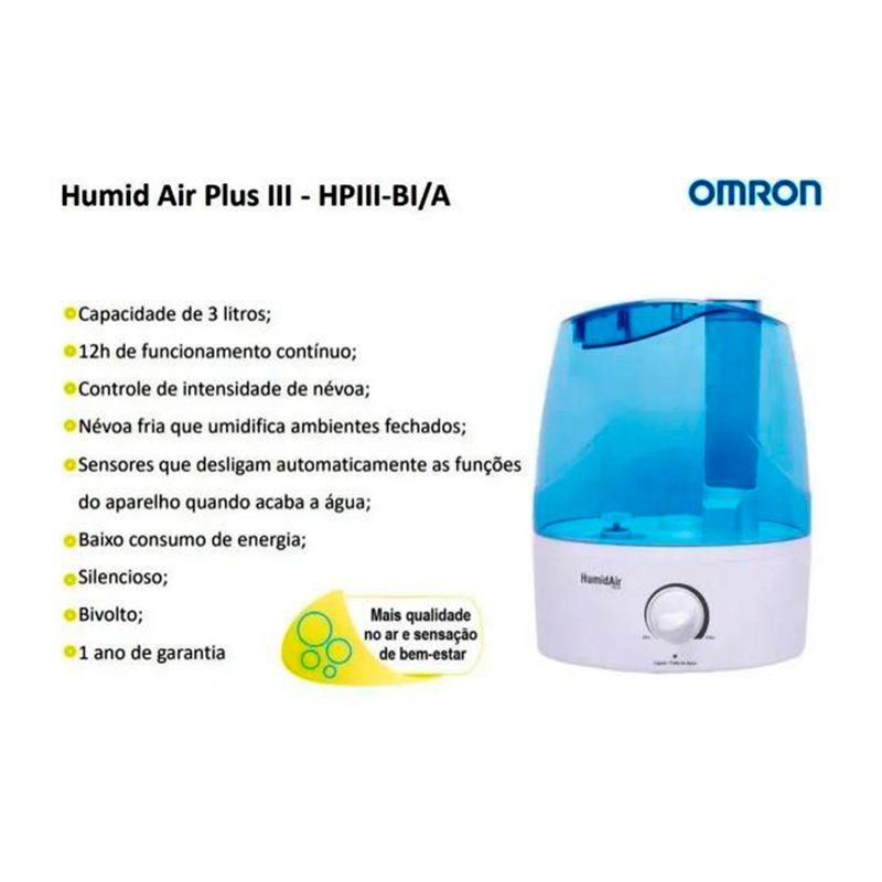 UMIDIF-AIR-OMRON-3L-BR-BIVOLT
