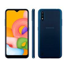 "Smartphone Galaxy A01 32GB Octa-Core Tela Infinita 5.7"" Samsung"