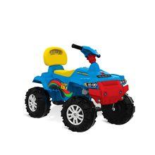 Smart Baby Superquad Passeio & Pedal Antiderrapante Bandeirante