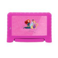 "Tablet Infantil Princesas 16GB Quad-Core Wi-fi Tela 7"" Multilaser"