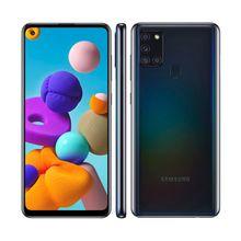 """Smartphone A21S 64GB Câmera Quadrupla Tela Infinita 6,5"""" 4GB Ram Samsung"""