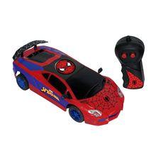 Carrinho de Controle Remoto Spider Man Ultimate 3 Funções Candide