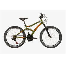 Bicicleta Aro 24 Max Front com Suspensão e Freio V-Brake 21M Caloi