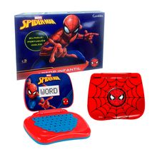 Laptop Infantil Spider Man Pedagógico Bilingue Candide