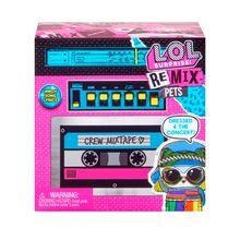 Boneca Lol Surprise Remix Hairflip Pets 9 Surpresas Candide