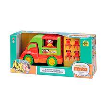 Carrinho de Brinquedo Food Truck da Mônica Samba Toys