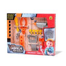 Oficina de Brinquedo Mega Series Builder 11 Peças Samba Toys