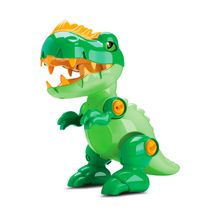 Dinossauro de Brinquedo Toy Rex Articulável e Desmontável com Som Samba Toys