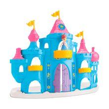 Castelo de Brinquedo Princesa Snow com Acessórios Samba Toys