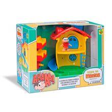 Casinha de Boneca Turma da Mônica Mini Móveis Sala Samba Toys