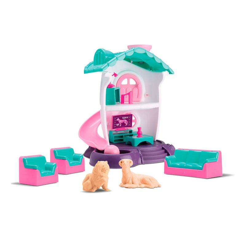 Casinha-de-Boneca-Center-Pet-Samba-Toys
