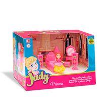 Casinha de Boneca Princesa Judy Home Quarto Samba Toys