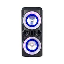 Caixa de Som Neon X 300W Bluetooth USB LED Multilaser