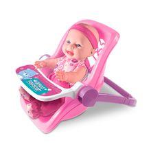 Boneca Sapekinha Bebe Conforto em Vinil 2 em 1 Milk Brinquedos