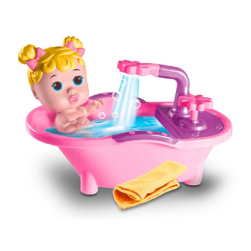 Boneca-Petit-Banho-Milk-Brinquedos
