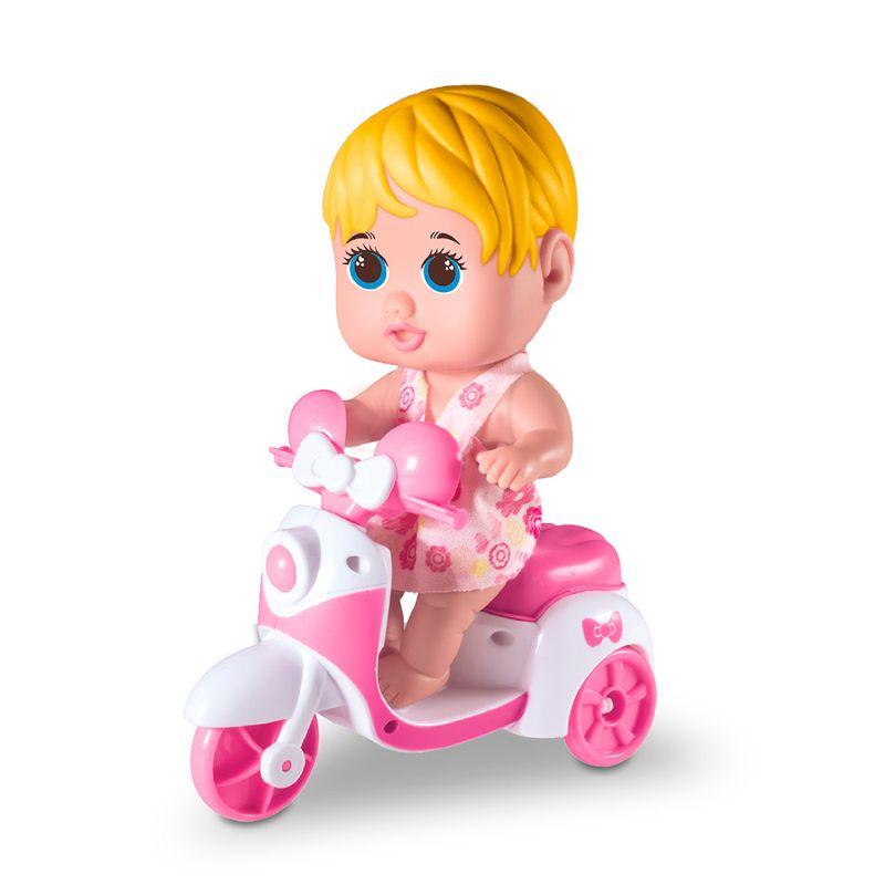 Boneca-Petit-Scooter-Milk-Brinquedos