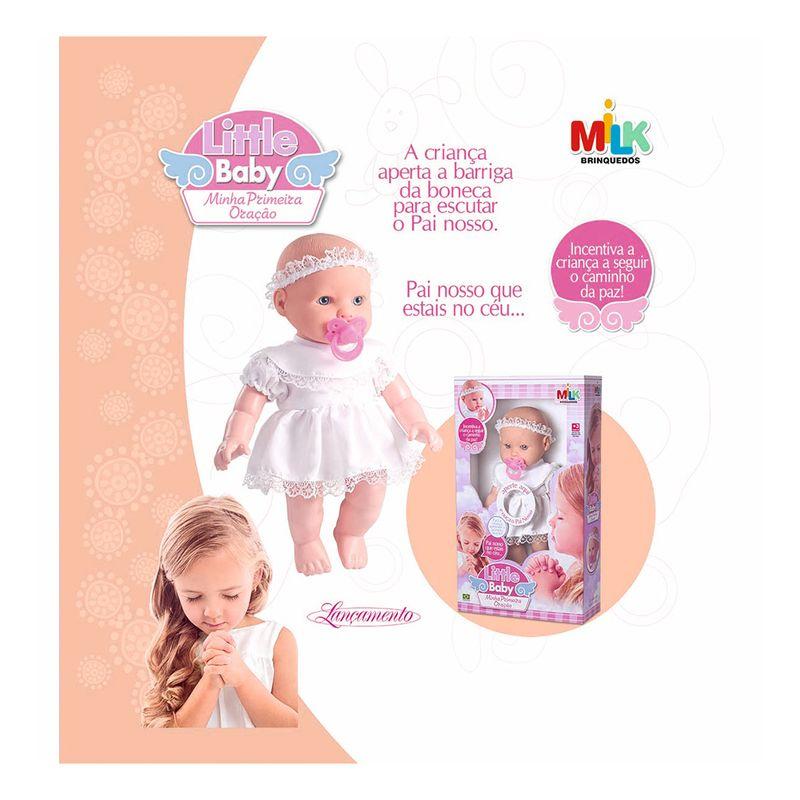 Boneca-Little-B.-Loira-Milk-Brinquedos