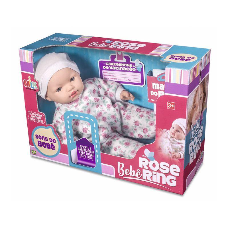 Boneca-Rose-Ring-Milk-Brinquedos