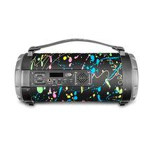 Caixa de Som Portátil Pulse Bazooka 120W Bluetooth USB Multilaser