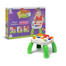 Brinquedo Educativo Mesa Play Time Múltiplas Atividades Cotiplás